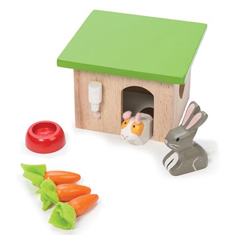 Le toy van - Domček pre zajačika