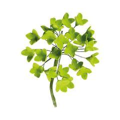 Cukrová dekorácia hortenzia - zelená 10cm