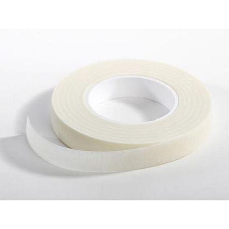 Floristická páska svetlo biela