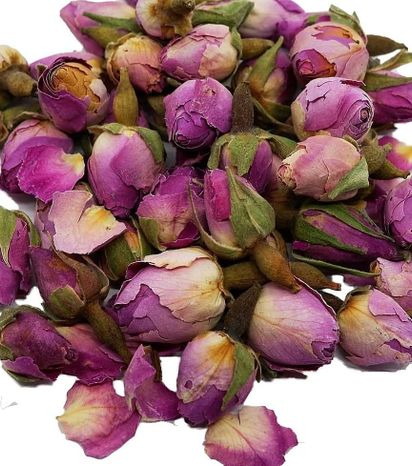 Jedlé sušené kvety Small pink rose 195ml