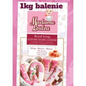 Madam Loulou Royal Icing - biely 1kg