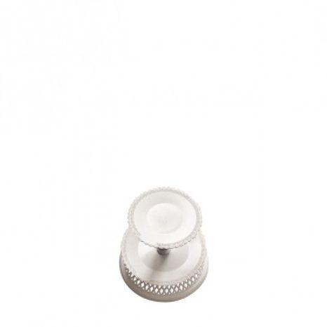 Plastový stojan biely - 2 poschodový