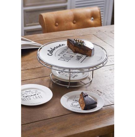 Riviera Maison - Stojan na tortu so 4 taniermi Celebrations