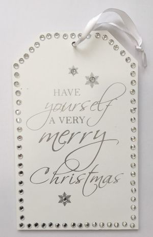Tabuľka Have yourself a very merry Christmas