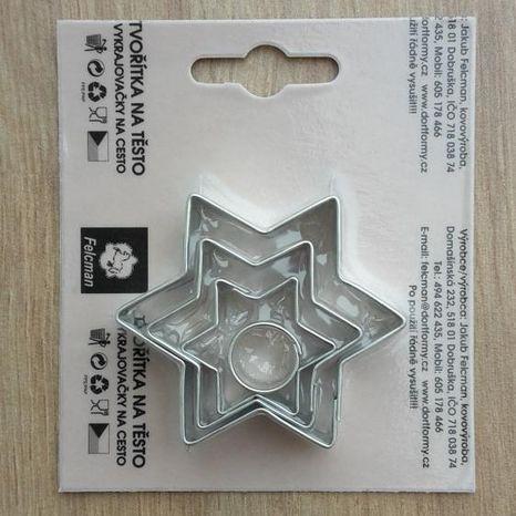 Vykrajovač - Hviezdice 4ks