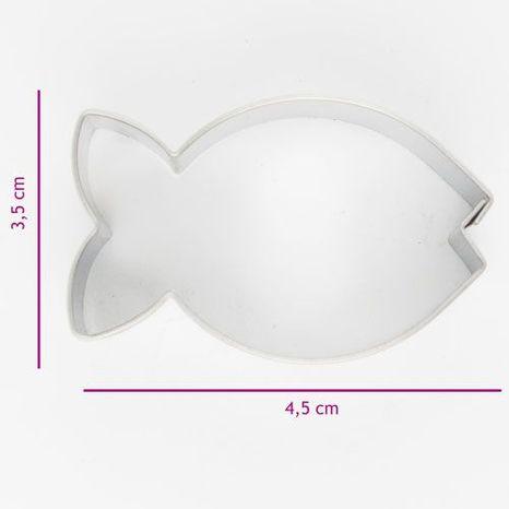 Vykrajovač - ryba 4,5cm